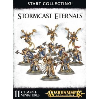 WARHAMMER Age of Sigmar Start Collecting Stormcast Eternals