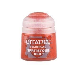 Modellbaufarbe Citadel  Spirtstone Red Technical 12ml