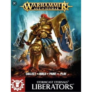 WARHAMMER Age of Sigmar Easy to Build Stormcast Liberator