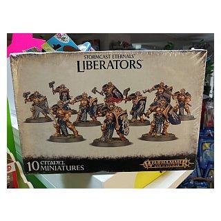 WARHAMMER Age of Sigmar Stormcast Eternal Liberators