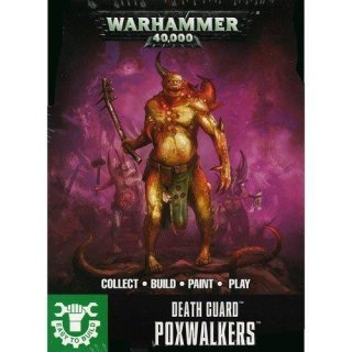 WARHAMMER 40k EASY TO BUILD DEATH GUARD POXWALKERS