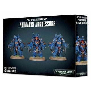 WARHAMMER 40k SPACE MARINES PRIMARIS AGGRESSORS