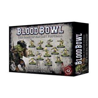 WARHAMMER Blloodbowl SCARCRAG SNIVELLERS BLOOD BOWL TEAM