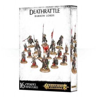 WARHAMMER Age of Sigmar Deathrattle Barrow Lords