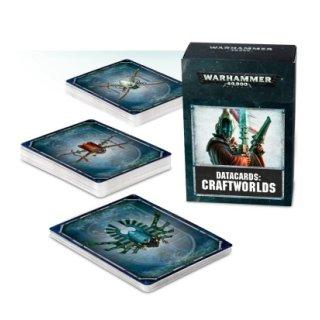 WARHAMMER 40k Datakarten Craftworlds