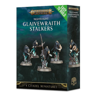WARHAMMER Age of Sigmar Easy to Build  NIGHTHAUNT GLAIVEWRAITH STALKERS