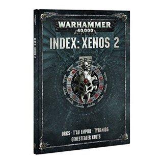 WARHAMMER 40k INDEX: XENOS 2 (Deutsch)