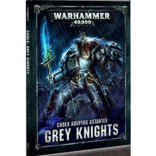 WARHAMMER 40k CODEX: GREY KNIGHTS (HB) (Deutsch)