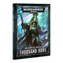 Warhammer 40k CODEX: THOUSAND SONS (HB) (DEUTSCH)
