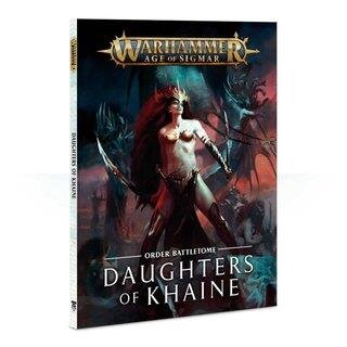 WARHAMMER Age of Sigmar BATTLETOME: DAUGHTERS OF KHAINE (SB) Deutsch