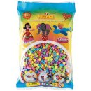 1 Hama Perlen Beutel 3000 Stück Pastell Farben gemischt