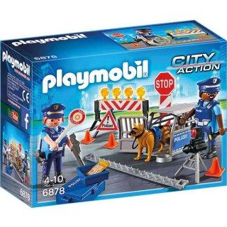 PLAYMOBIL® 6878 Polizei straßenspeere