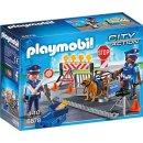 PLAYMOBIL 6878 Polizei straßenspeere