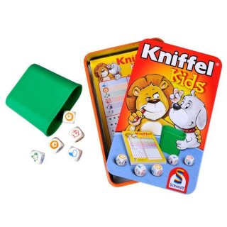 Kniffel-Kids Metallbox