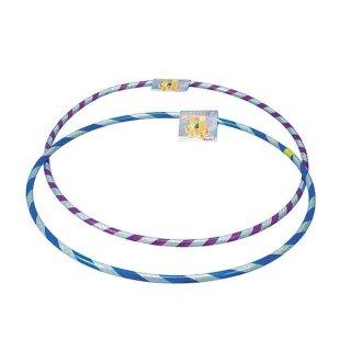 1 Hula Hoop mit Glitter Lila/Blau ca 60 cm